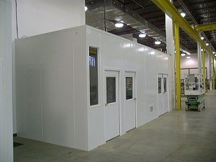 Clean Rooms and Soft Wall Partitions create a great solution for business that need to divide space